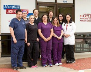 Mansfield Urgent Care Staff