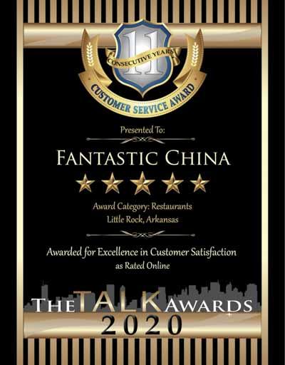 Fantastic China wins 2020 Talk Award