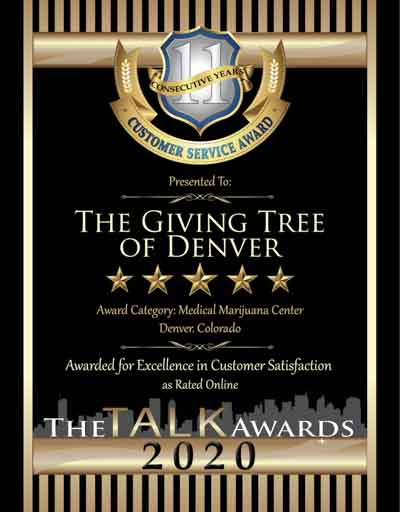 The Giving Tree of Denver wins 2020 Talk Award