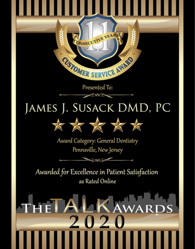 James J Susack DMD wins 2020 Talk Award
