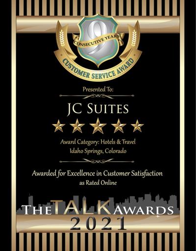 JC Suites wins 2021 Talk Award