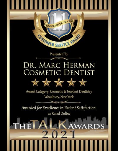 Dr. Marc Herman wins 2021 Talk Award