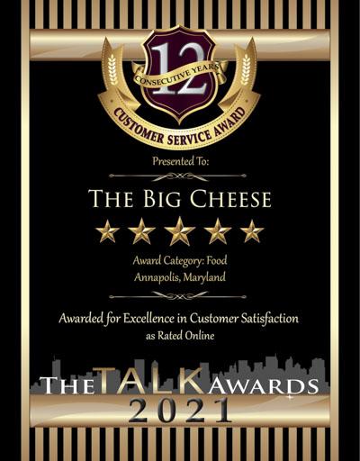 The Big Cheese wins 2021 Talk Award
